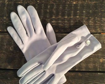 1950's Soft Lilac Gloves