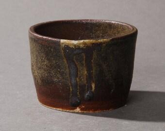 Mini Bonsai pot. Dark green #1