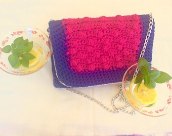 Vibrant Colours Handmade Bag