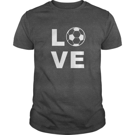 I Love Soccer Ball Symbol T-Shirt