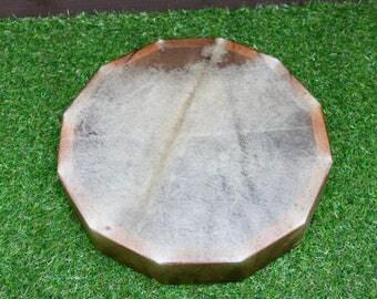 "15"" Red Deer/Stag Rawhide Drum. Thunderous Drum Native American Style / Shaman / Pagan Drum"
