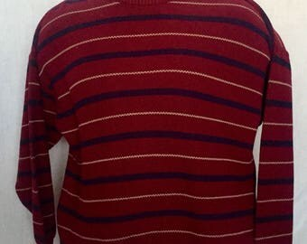 Lord Jeff stripped sweater L