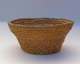 Antique French Coiled Basket