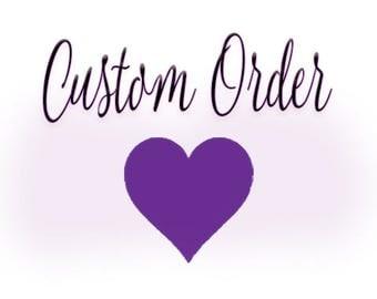 Custom veil for Lorrie