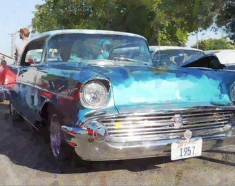 Classic 1957 Chevy Bel Air  ( JPEG, 7.23 MB)