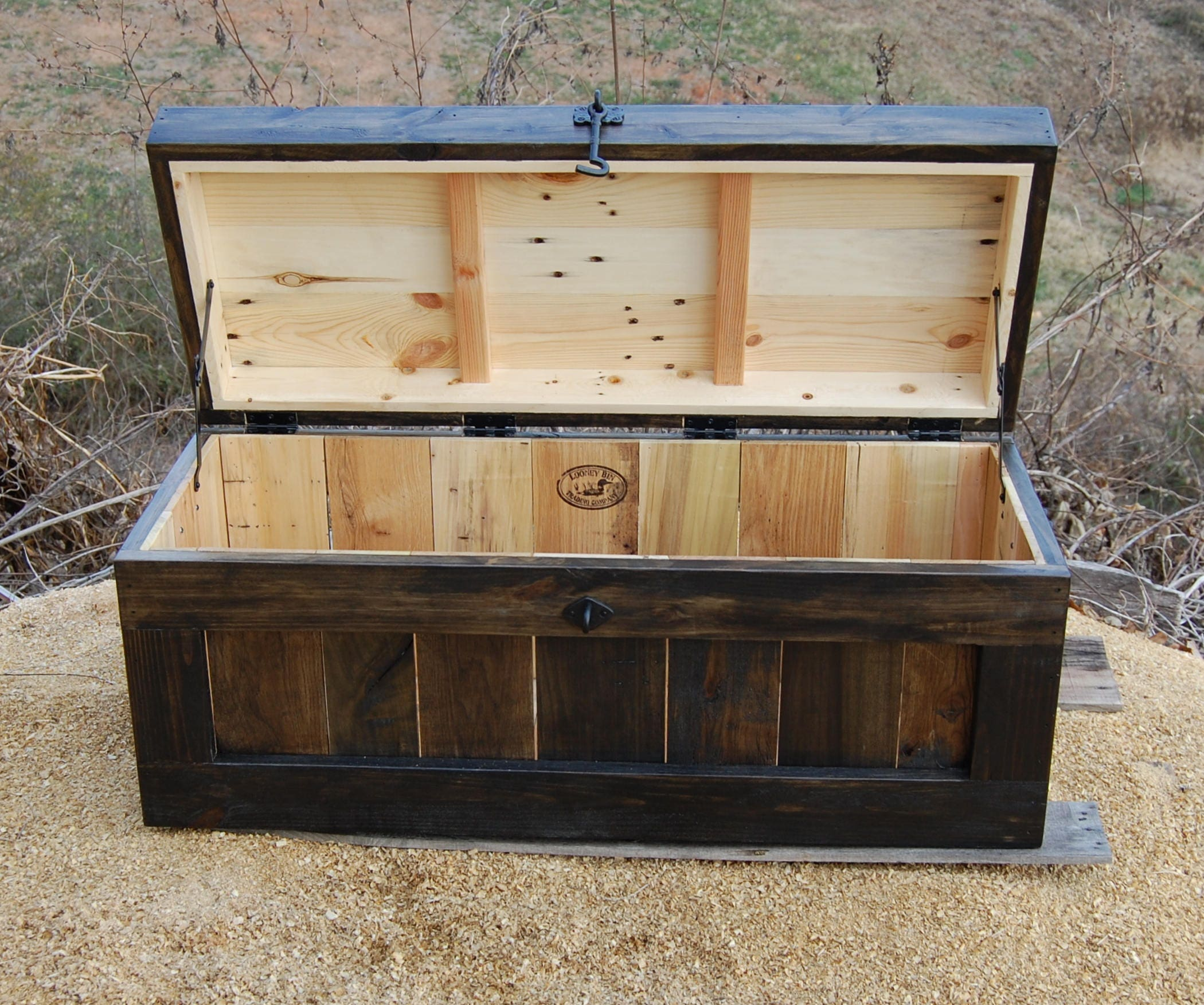 large hope chest coffee table entry trunk wooden chest ebony
