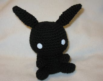 Chibi Shadow Bonnie amigurumi plush