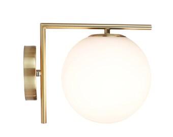 EQLight Brass Mid Century Wall Sconce 2.0 - Brass Modern Wall Light