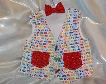 Toddler Vest & Bowtie Combo