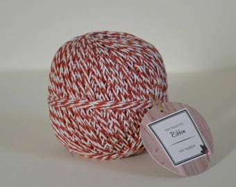 Bicolor cotton Twine / 165 Yards Twine
