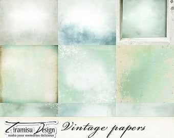 ON SALE Scrapbook Papers and Digital Paper Pack 26 -Vintage Christmas