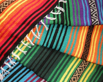 Hot Rod Throws or Blankets made from Mexican blanket material - Hot Rods, Dens, Cabins, Picnics, Sports Parties, Tailgating - Many colors