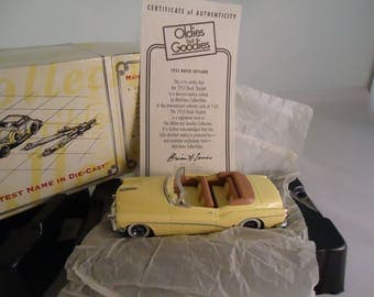 Matchbox Die-cast 1953 Buick Skylark Oldies But Goodies Collection, Original Box, Code DYG04-M