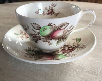 Johnson brothers harvest time soup cup