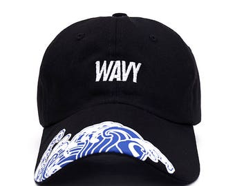 Wavy Tidal Waves - Baseball Dad Cap