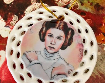 Princess Leia Christmas Ornament: On Sale!