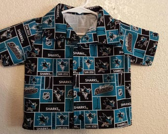 San Jose sharks shirts