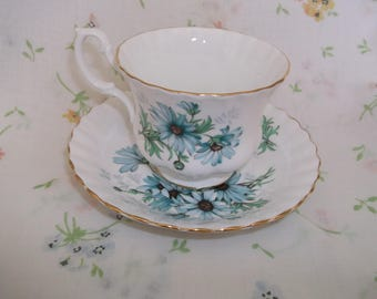 Royal Albert Bone China Cup & Saucer Marguerite England