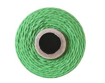 Green Bakers Twine - Solid Peapod  - 240 Yard Spool