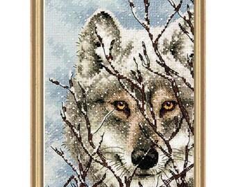 Cross Stitch Kit - Wolf