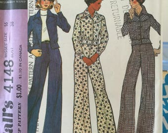 Vintage McCall's Pattern 4148 size 16