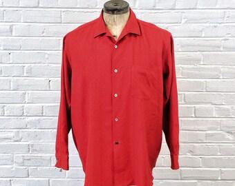XXL 1980s Comme Des Garçons Homme Plus Loop Collar Shirt