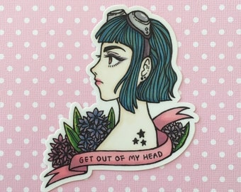 RAMONA FLOWERS — vinyl sticker
