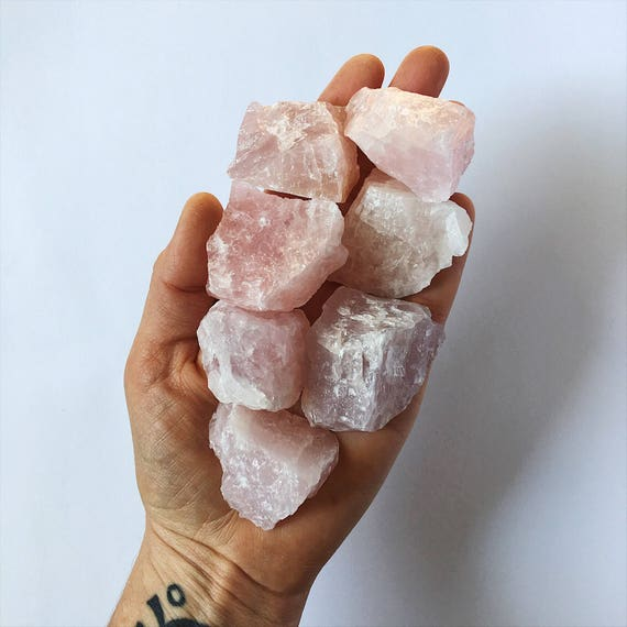 Rose Quartz raw piece