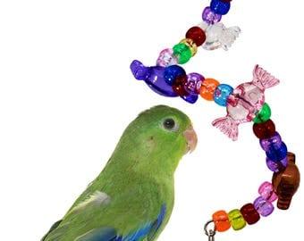 1063 Toffee Twist Bird Toy