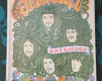 Jethro Tull Anthology, 1970, Photos, Piano Music, Score, Ian Anderson, Chrysalis, Softcover, Great Condition, Gift, Collection, Prop