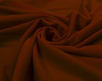 "Deep Red 60"" Swim Jersey 4-Way Stretch Fabric by the Yard - Style 3076"