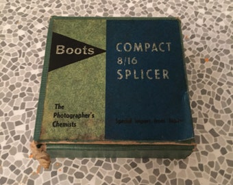 Vintage compact 8/16 film splicer by Boots The Photographer's Chemist