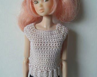 Crochet Top for Momoko dolls