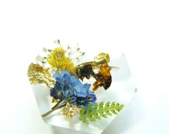 Keeper of the Bees Pin, Lapel pin, Mens accessories, Beekeeper, Mens Jewelry, Brooch, Bee Brooch, Honey bee accessory