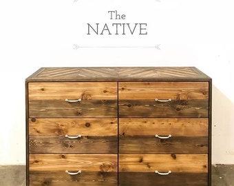 The Native 6 Drawer Dresser - Handmade in USA