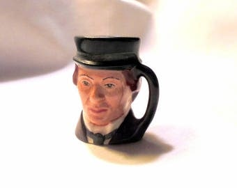 Royal Doulton David Copperfield Tinies Character Toby Jug Discontinued Limited Edition