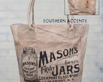Burlap/ burlap bag/ farmhouse/ farm/ mason jar/ wedding/ bridesmaid