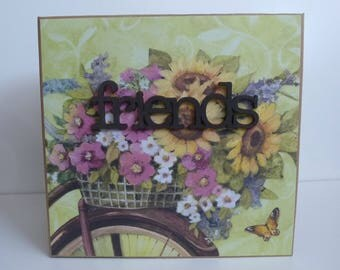Premade Scrapbook album, Memory book, Photo album, Scrapbooking  Memories, Friends