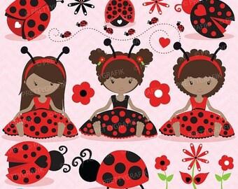 80% OFF SALE Ladybug clipart commercial use, ladybug vector graphics, digital clip art, digital images - CL679