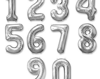 Gold/ Silver Foil Balloons Banner Garland Party Decor ( available in 2 sizes )