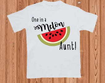 Semi-Custom One in a Melon T shirt