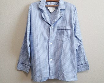 Loose Flannel Nightshirt Medium - Diplomat w/ original tags