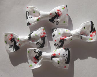 pattern printed 33 mm - (A198 fabric bows