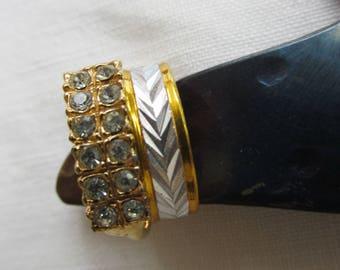 Rings - Wedding band set - Vintage