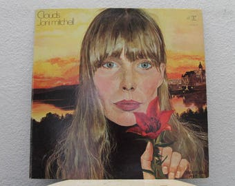 "Joni Mitchell - ""Clouds"" vinyl record"