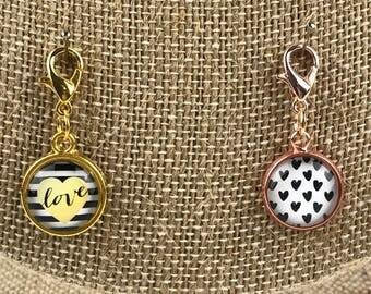 Planner Charm - Valentine Love Planner Jewelry, Accessories
