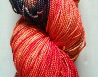 Fire Season Twisty Sock