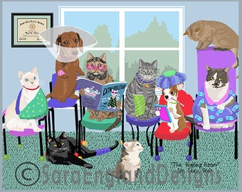 Waiting Room - 7 Cats