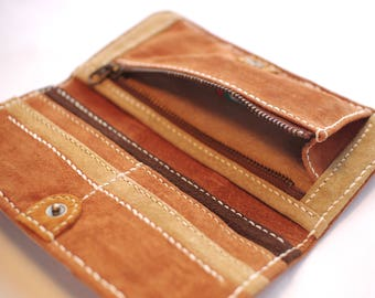 SUEDE LONG WALLET