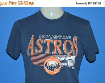 ON SALE 90s Houston Astros Astrodome t-shirt Youth Large